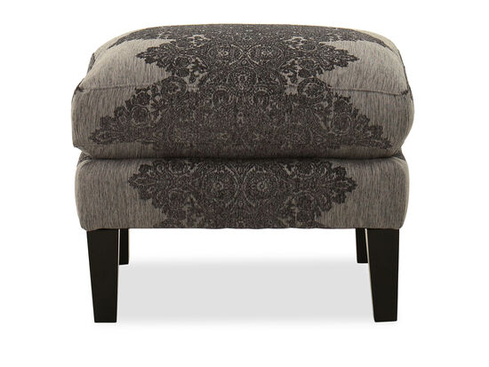 Contemporary Rectangular Ottoman in Gray