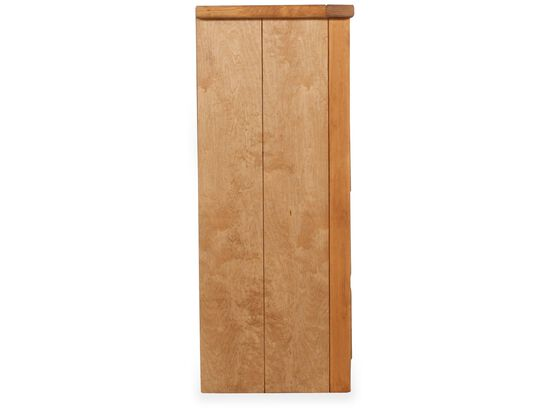 Four-Drawer Traditional Youth Chest in Cinnamon