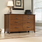 "34"" Traditional Six-Drawer Dresser in Washington Cherry"