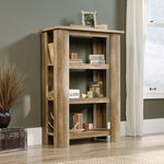 Three-Shelf Casual Bookcase in Craftsman Oak