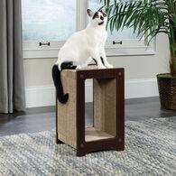 MB Home Golden Gate Espresso Mini Cat Scratcher