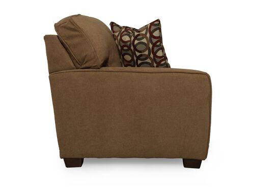 """Casual 82"""" Full I-Rest Sleeper Sofa in Brown Truffle"""