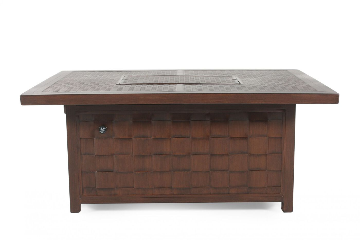 castelle spanish bay patio fire pit coffee table | mathis brothers