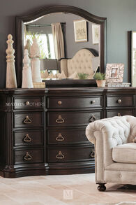 Pulaski Ravena Twelve-Drawer Dresser