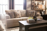 "Ashley 91"" Chenille Sofa in Sisal"