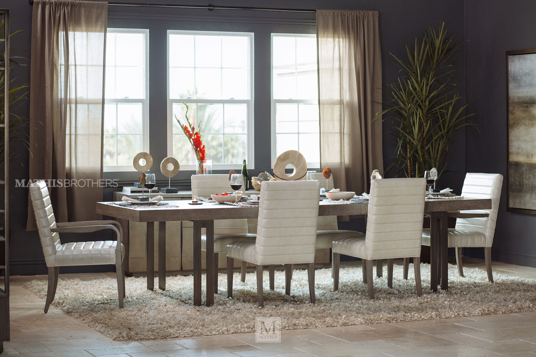 Casual 44u0026quot; To 68u0026quot; Open Pedestal Dining Table ...