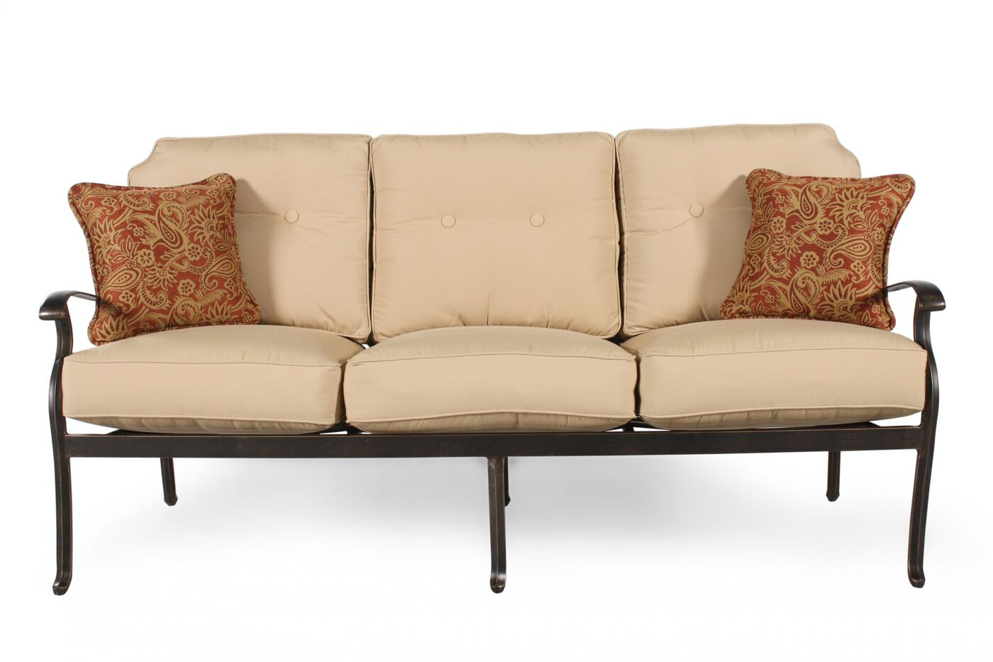 Mathis Brothers Patio Furniture agio heritage select patio sofa | mathis brothers furniture