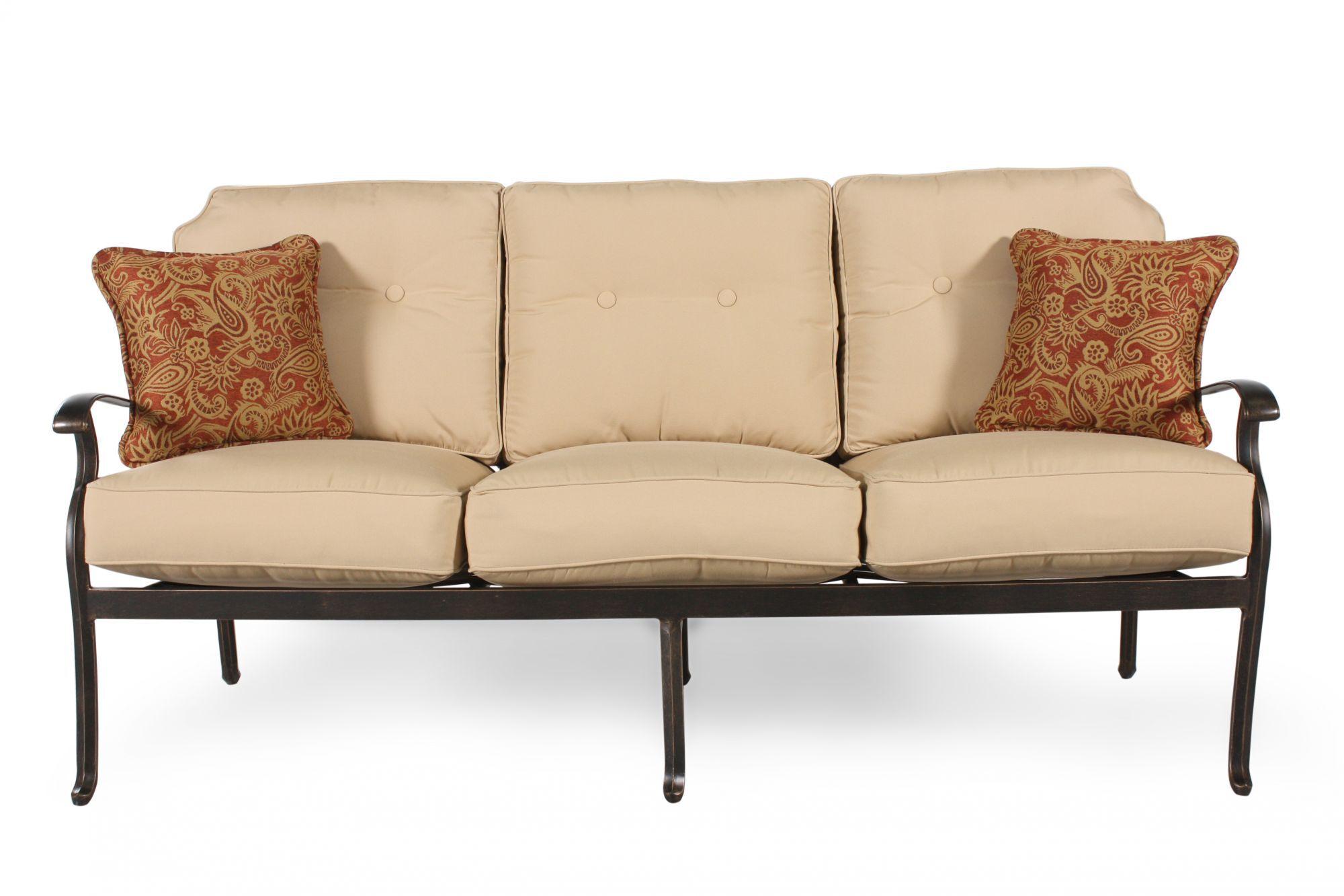 agio heritage select patio sofa