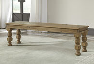 Ashley Trishley Light Brown Large Dining Room Bench