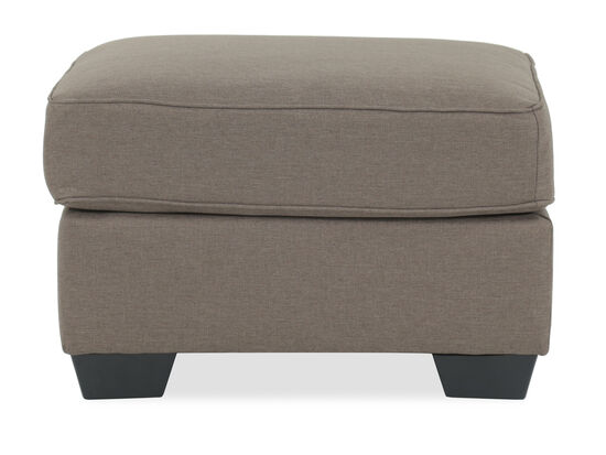 "Contemporary 30"" Ottoman in Brown"