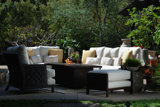 Castelle Spanish Bay Patio Loveseat
