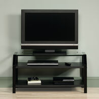 MB Home Genesis Black TV Stand