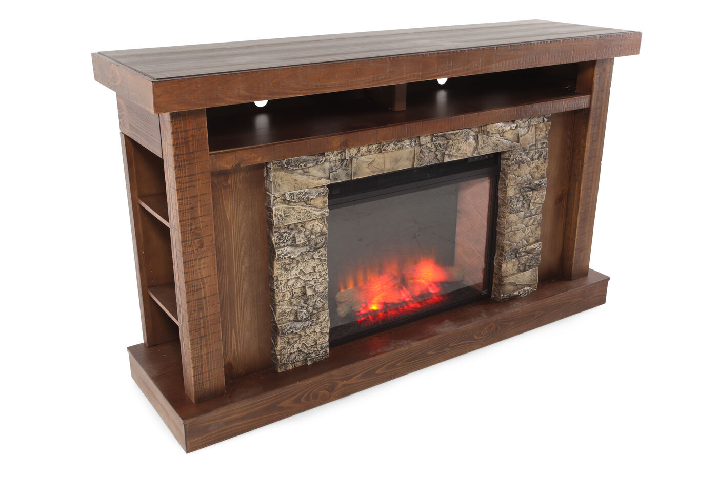 ashley tamilo entertainment console mathis brothers furniture