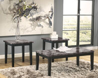 Ashley Maysville Black Occasional Table Set
