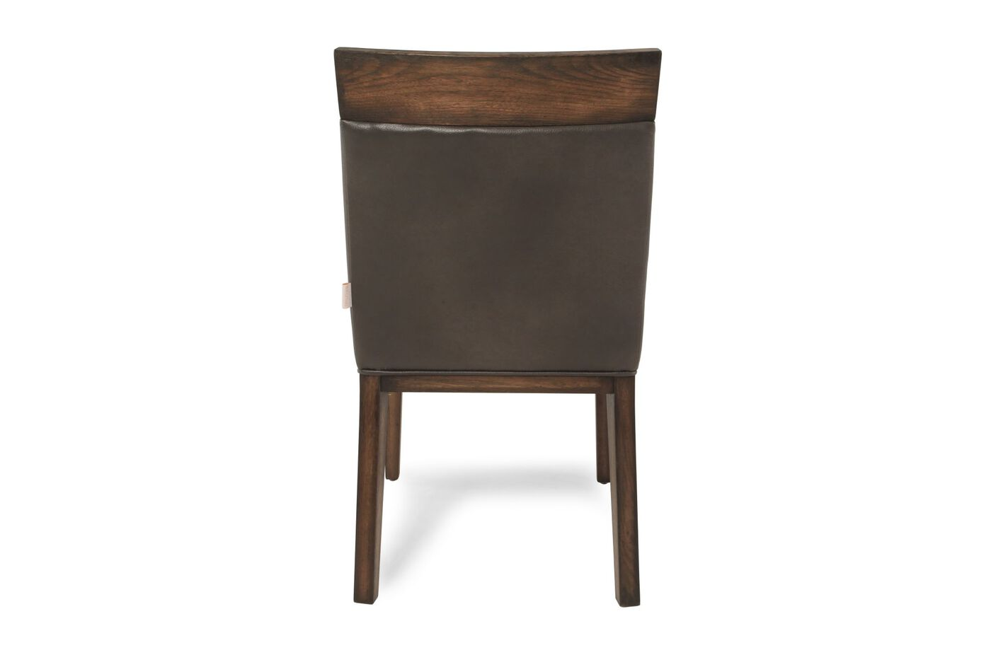 Contemporary 35 39 39 dining chair in brown mathis brothers for Furniture 35