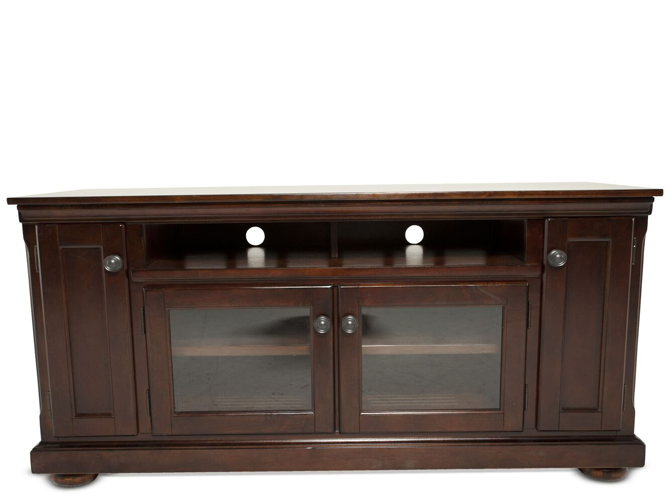 Two glass door traditional tv stand in dark brown mathis images two glass door traditional tv stand in dark brown two glass door traditional tv stand in dark brown planetlyrics Images