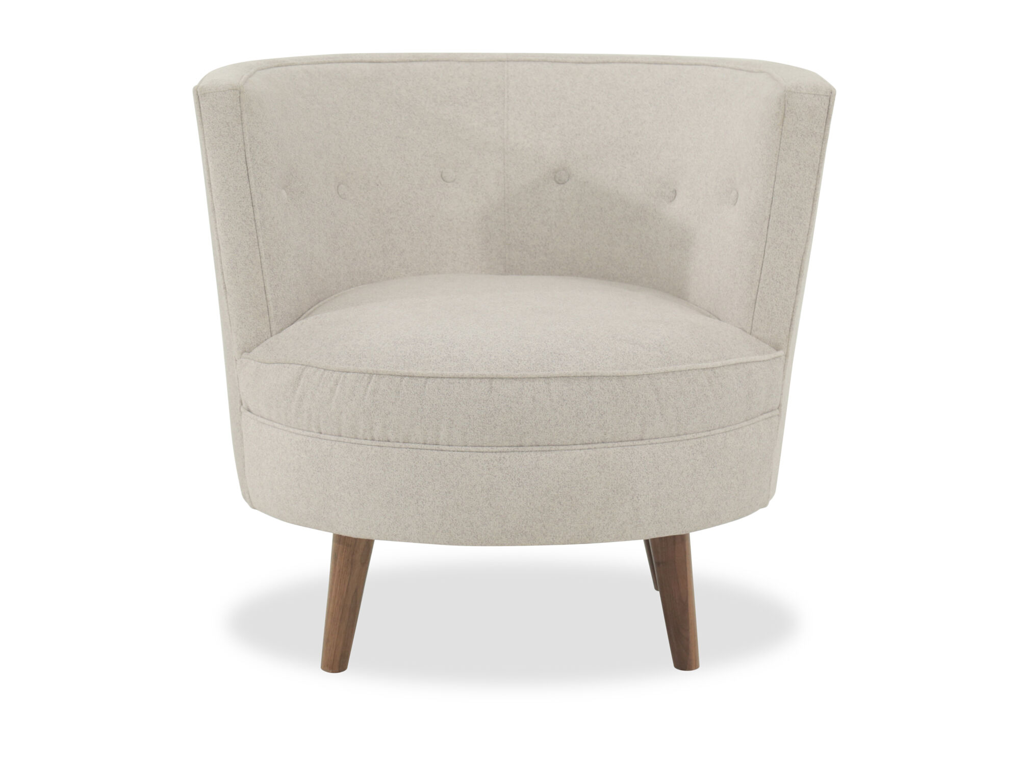 Genial Images Barrel Style Casual 35u0026quot; Swivel Chair In Cream Barrel Style  Casual 35u0026quot; Swivel Chair In Cream