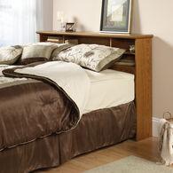 MB Home Presidency Carolina Oak Full/Queen Bookcase Headboard