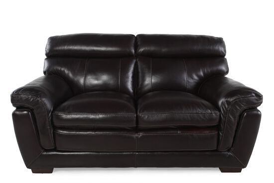 Simon Li Longhorn Blackberry Loveseat