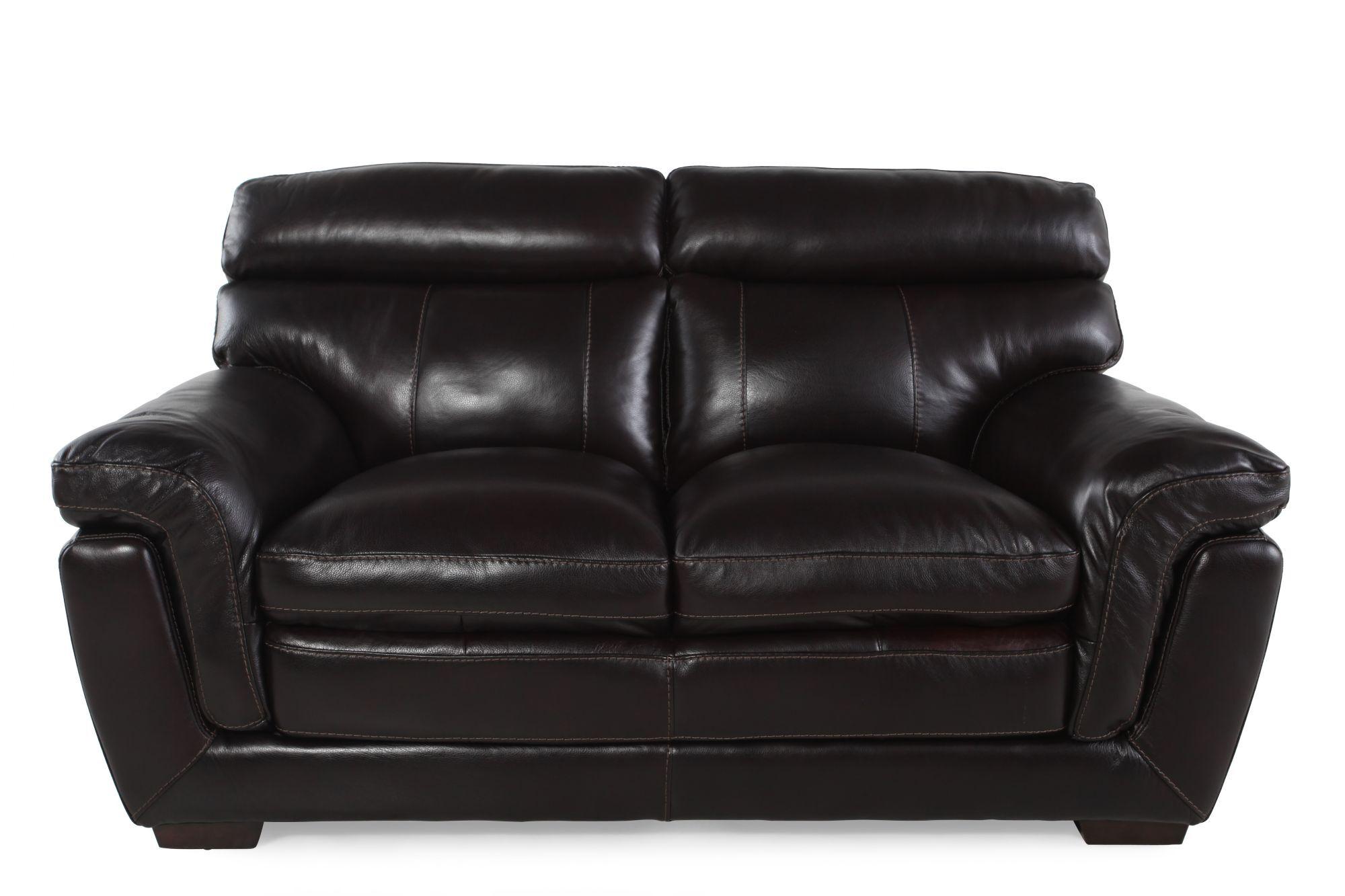 simon li longhorn blackberry loveseat - Simon Li Furniture
