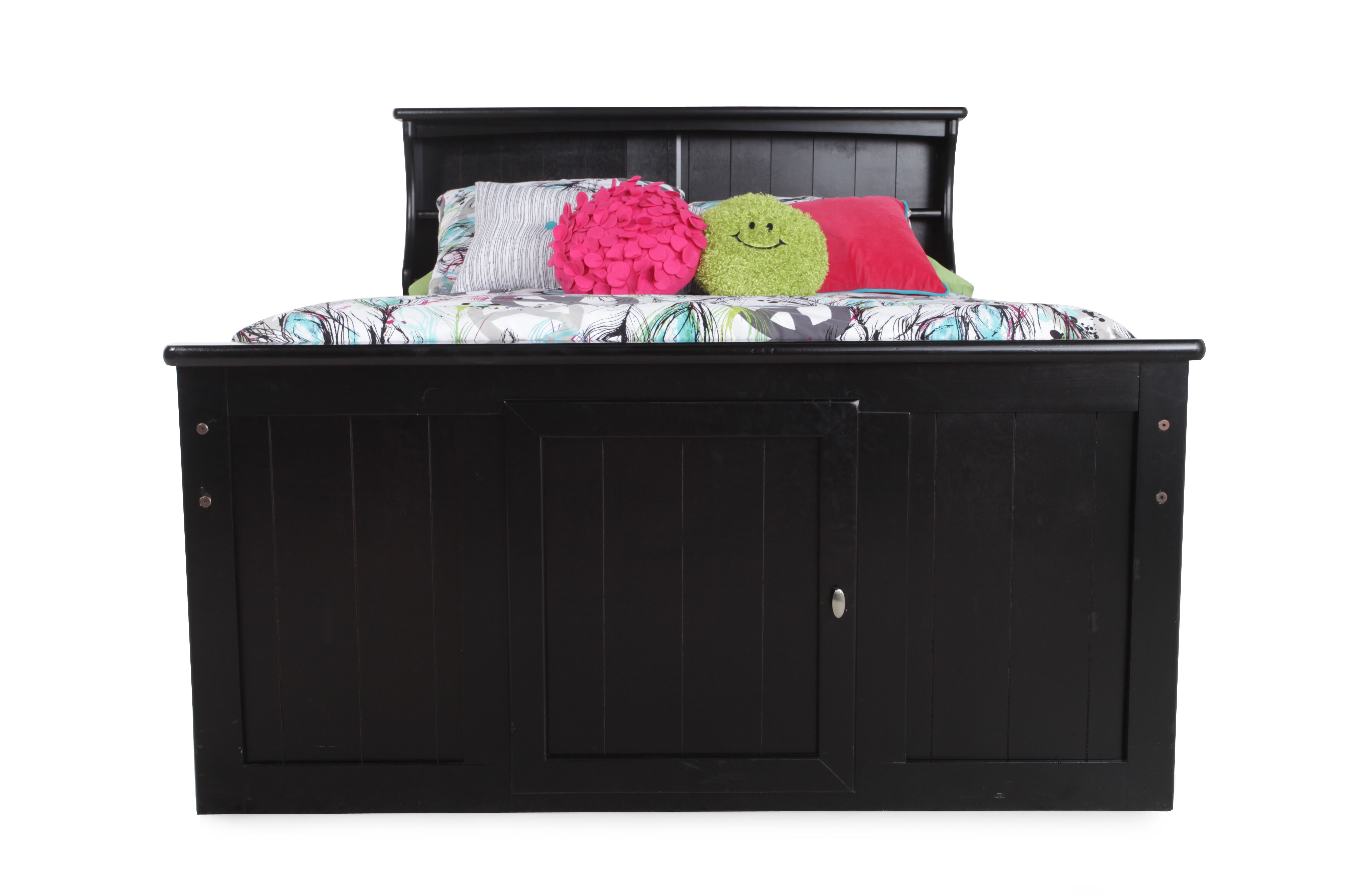 Images Solid Pine Youth Planked Storage Bed in Black Cherryu0026nbsp; Solid Pine Youth Planked Storage Bed in Black Cherryu0026nbsp;  sc 1 st  Mathis Brothers & Solid Pine Youth Planked Storage Bed in Black Cherry | Mathis ...