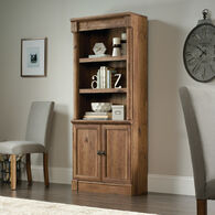 MB Home Verdant Valley Vintage Oak Library with Doors