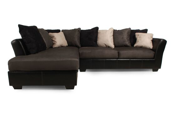 Contemporary Sectional in Black