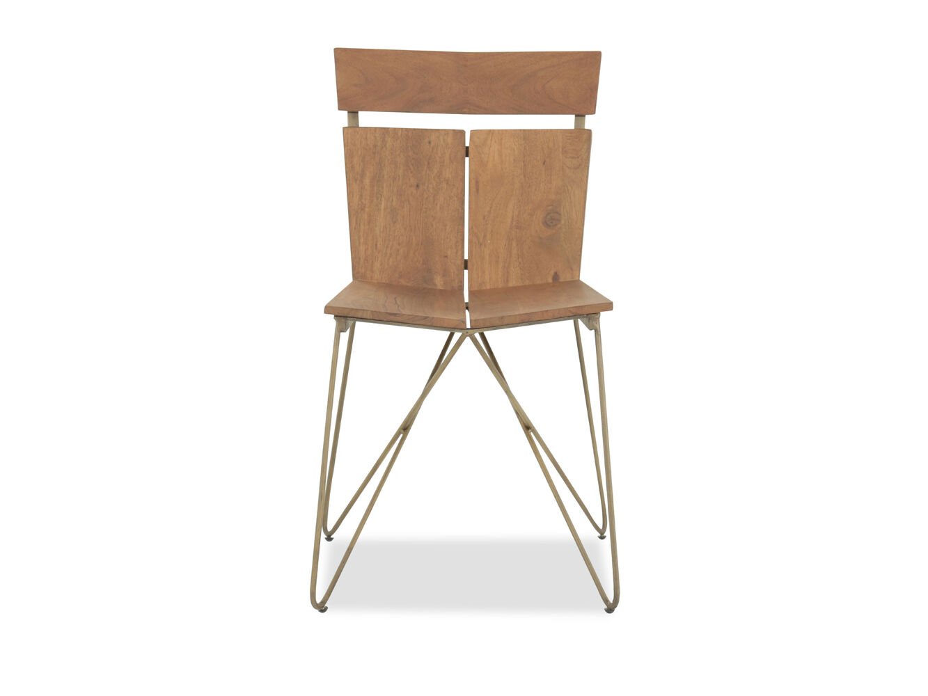 Solid Acacia Office Chair in Light Cinnamon | Mathis Brothers ...