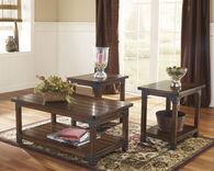 Ashley Murphy Medium Brown Occasional Table Set