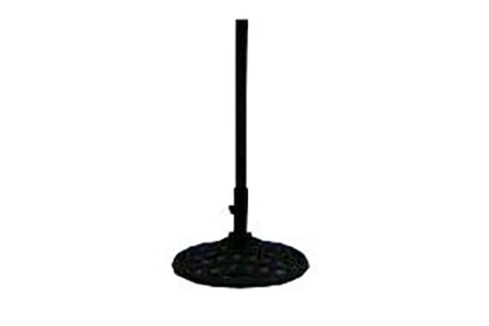 Lattice Base Select Umbrella Stand in Black
