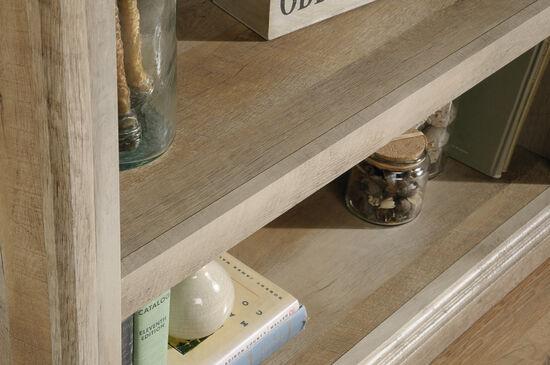 Contemporary Adjustable Shelf Bookcase in Lintel Oak