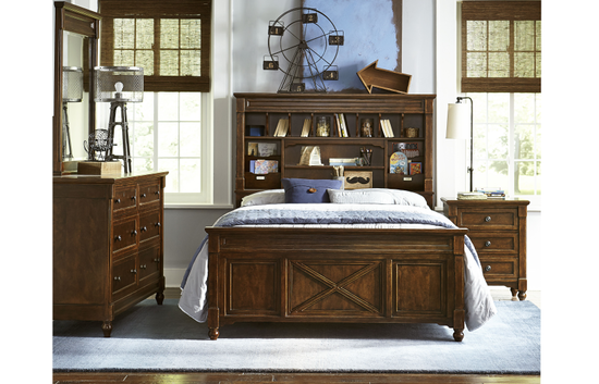 Legacy Big Sur Vista Point Full Bookcase Bed