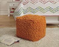 Ashley Taisce Orange Pouf