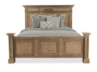 Aspen Belle Maison Aged Oak Queen Panel Bed