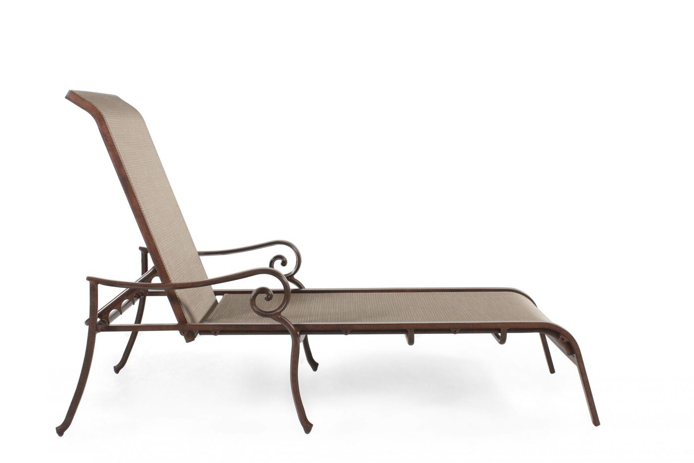 100 agio patio furniture chaise lounge toscana outdoor for Anti gravity suspension chaise lounge