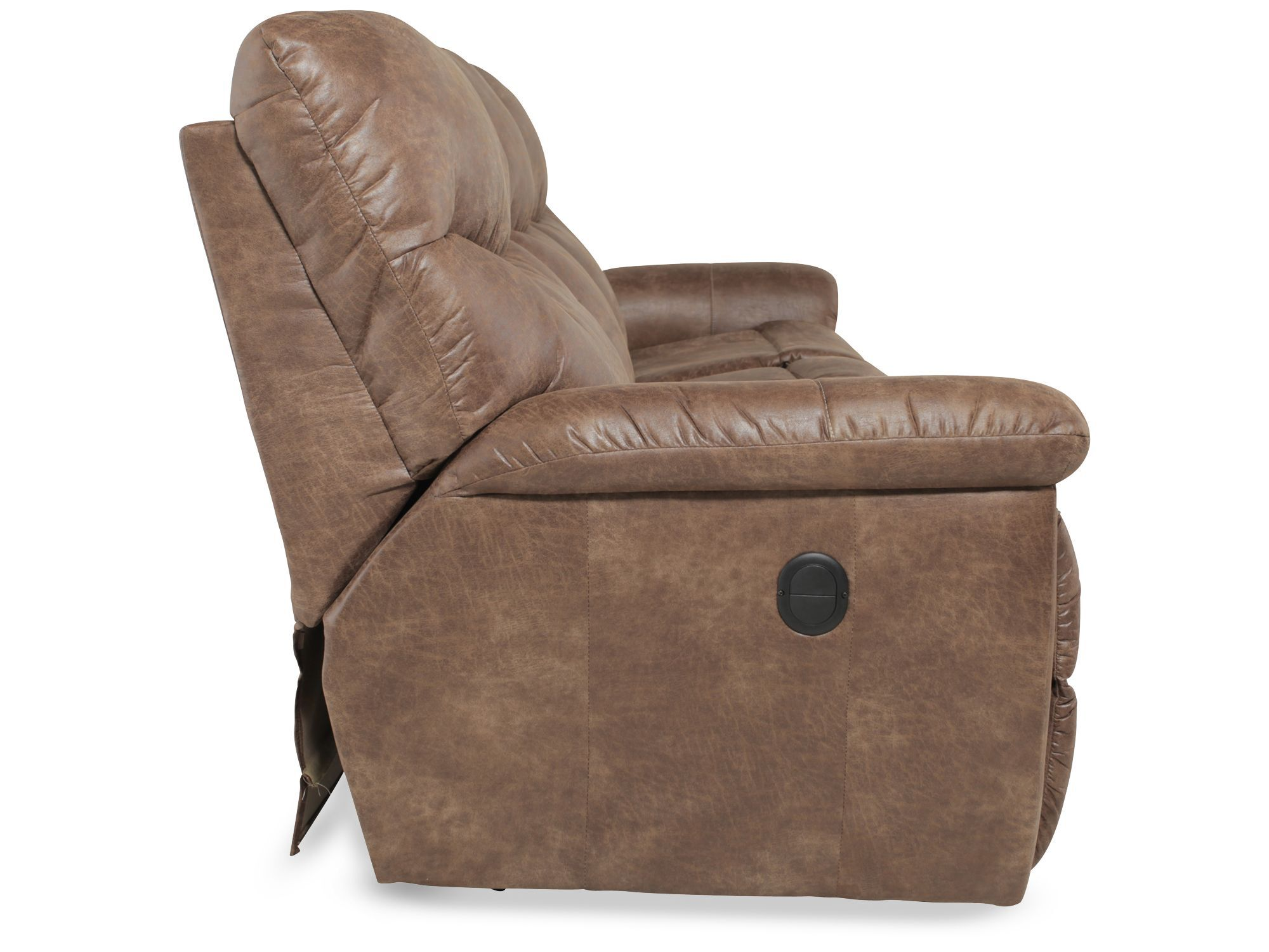 La Z Boy James Silt Performance Leather Reclining Sofa Part 78