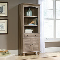 MB Home Hampshire Salt Oak Library with Doors