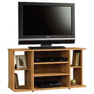 MB Home Genesis Highland Oak TV Stand