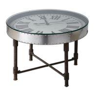 Uttermost Cassem Clock Table