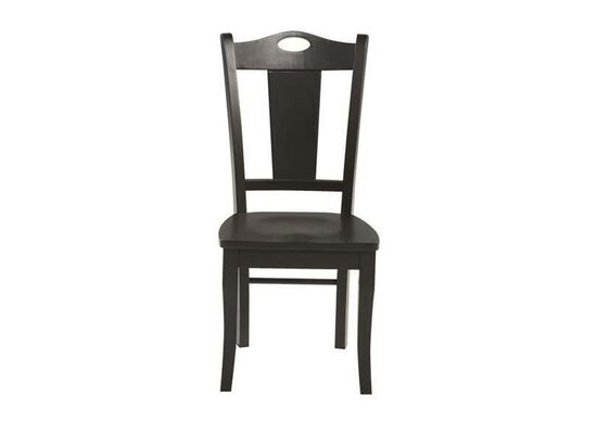 Slat Back Country Youth Side Chair in Ebony