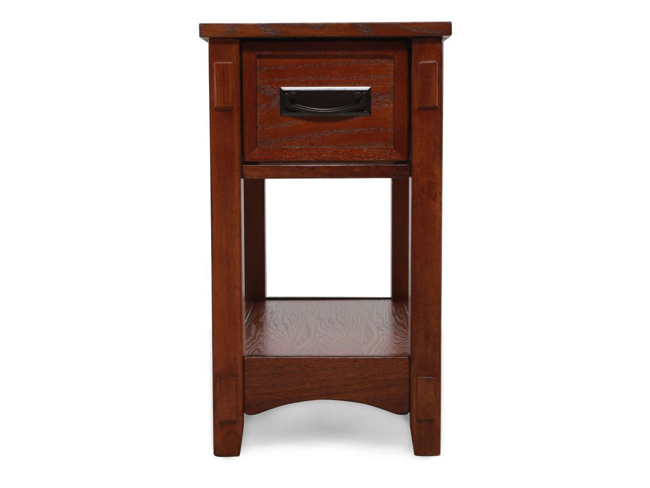 ashley cross island chairside accent end table