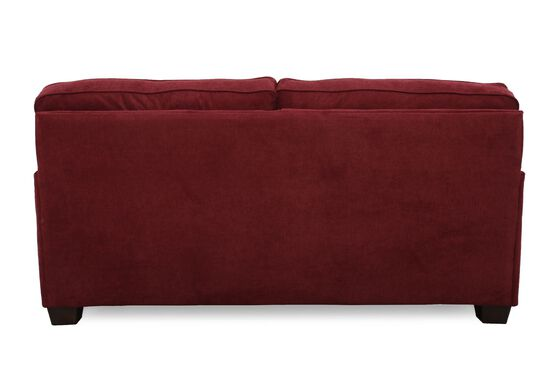 """I-Rest Casual 82"""" Sleeper Loveseat in Red"""