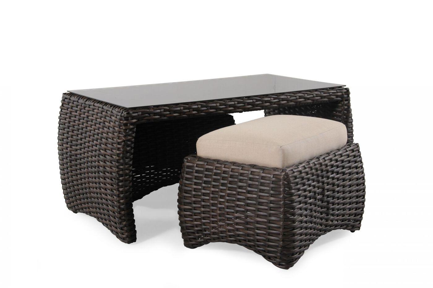 Agio hudson coffee table set mathis brothers furniture agio hudson coffee table set geotapseo Images