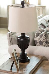 Antique Bronze Lamp