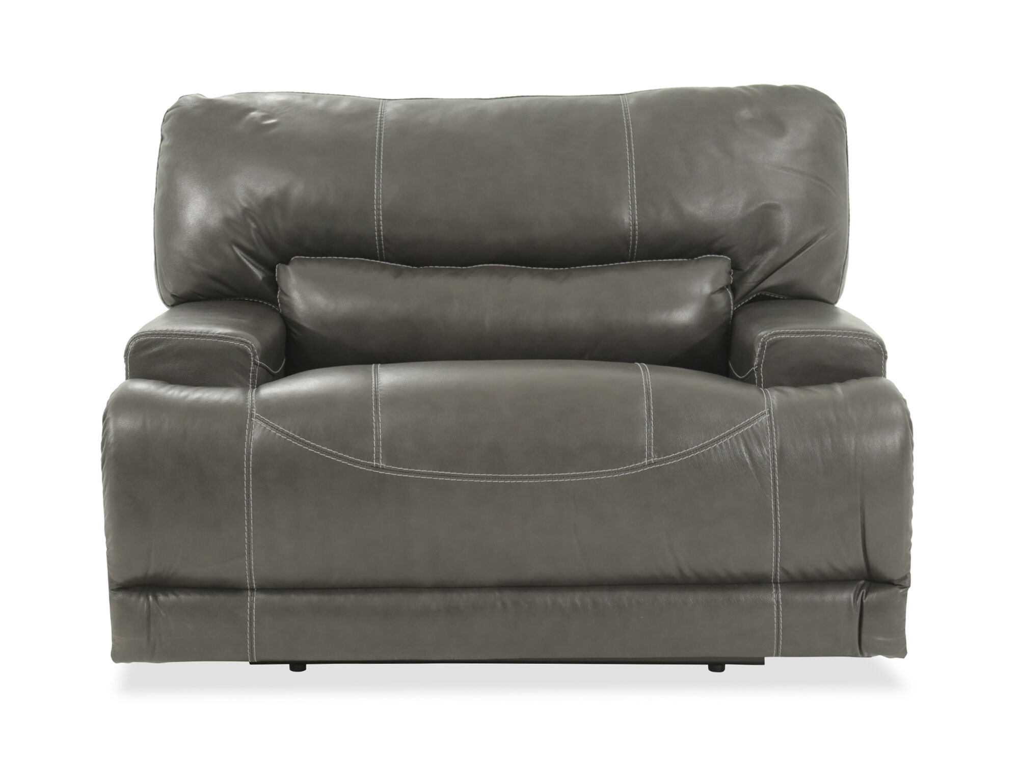 ashley mccaskill gray oversized power recliner