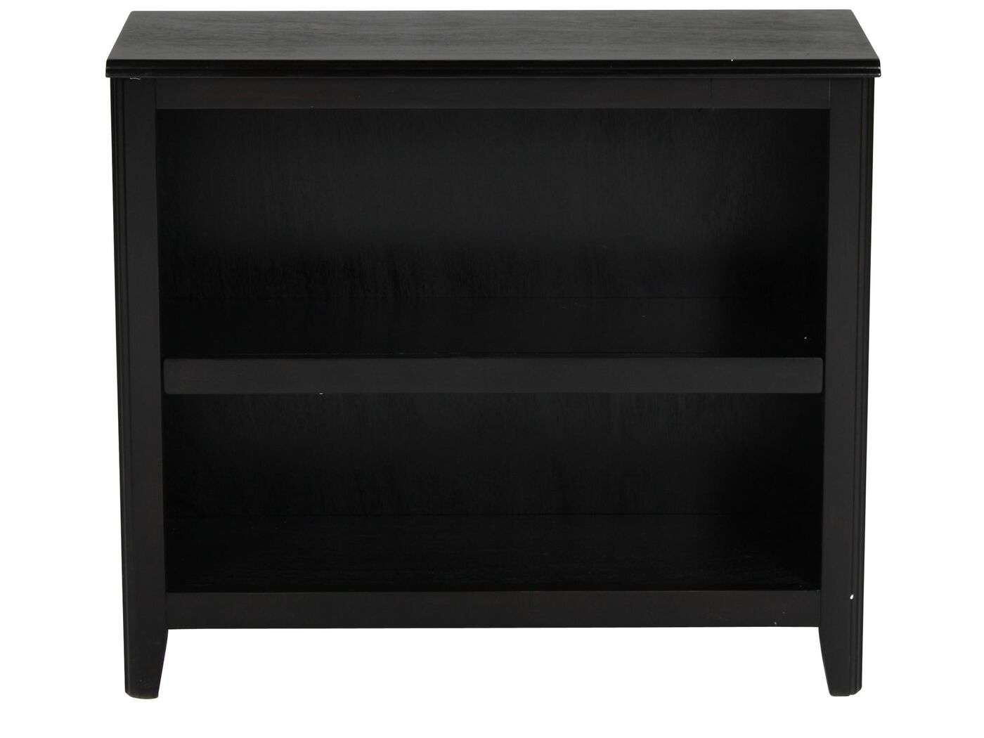 Pine Dining Room Tables Contemporary Adjustable Shelf Small Bookcase In Black