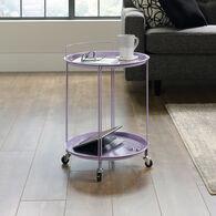 MB Home Fusionville Lavender Accent Cart