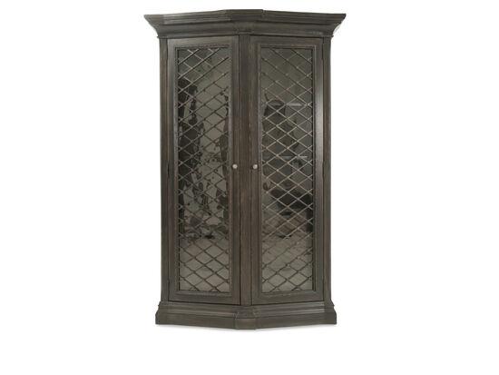 Traditional Display Cabinetin Black