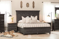 Magnussen Home Bedford Corners Queen Storage Bed
