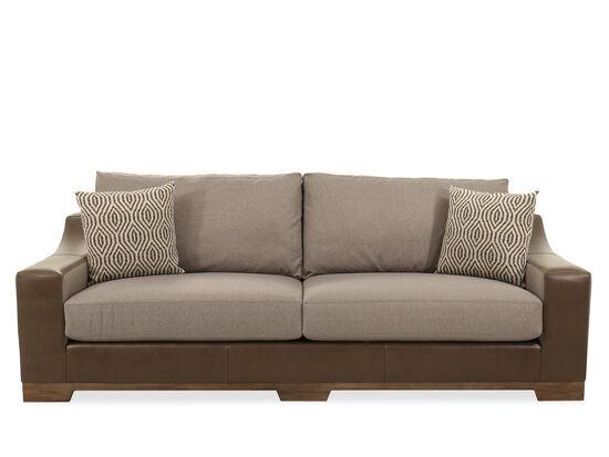 """Contemporary 96"""" Sofa in Gray"""